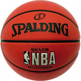 Spalding NBA Silver Junior Outdoor