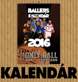 SPALDING BALLERS Kalendár 2016